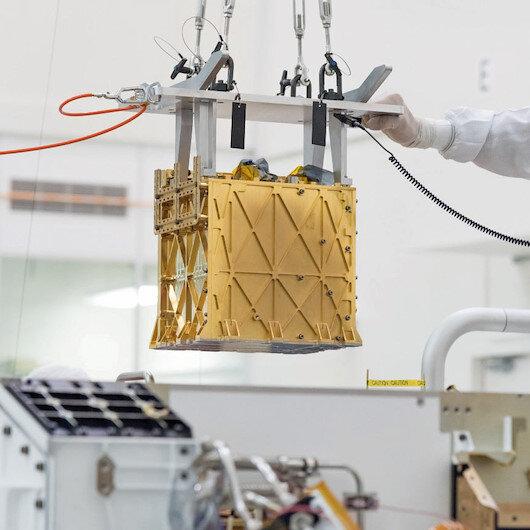 Kızıl Gezegen'de oksijen üretildi:  Mars'ta bir nefes