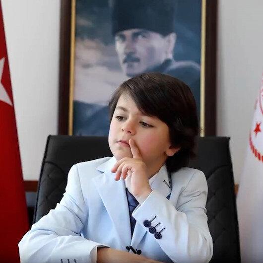 Sağlık Bakanı Fahrettin Kocadan dikkat çeken 23 Nisan paylaşımı
