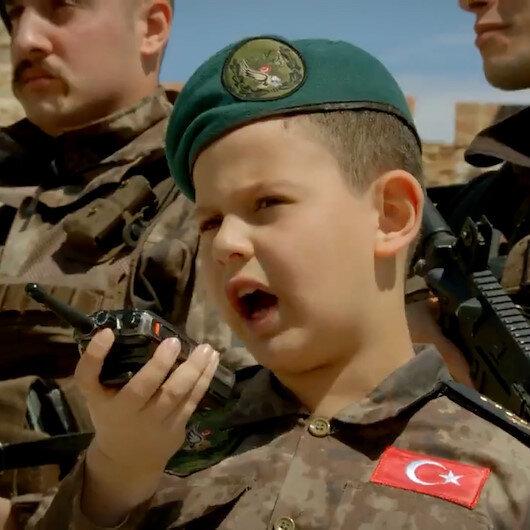İstanbul Emniyet Müdürlüğünden duygulandıran 23 Nisan paylaşımı
