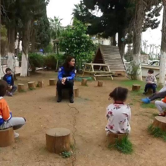 Emniyet Genel Müdürlüğü 23 Nisanda çocuklara Anadolu masallarını anlattı