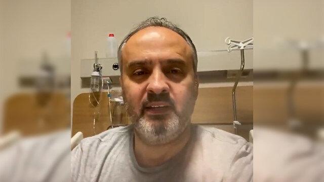 Koronavirüse yakalanan Alinur Aktaş'tan sağlık durumuyla ilgili açıklama