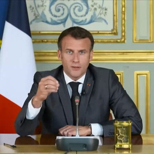 İklim Zirvesinde süresini aşan Macron yayından alındı