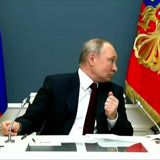 İklim Zirvesinde ilginç anlar: Putin dakikalarca konuşmadı