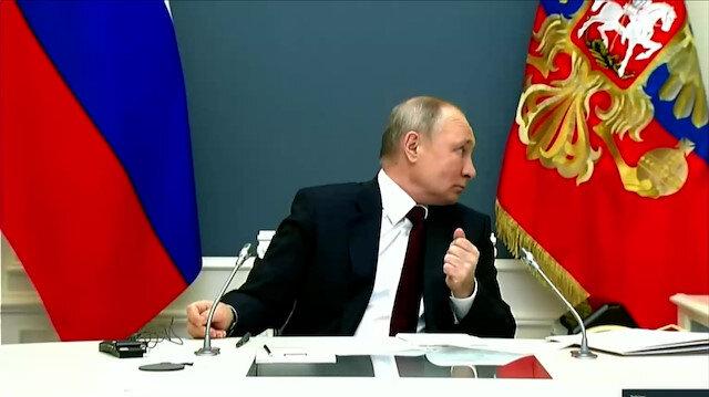 İklim Zirvesi'nde ilginç anlar: Putin dakikalarca konuşmadı