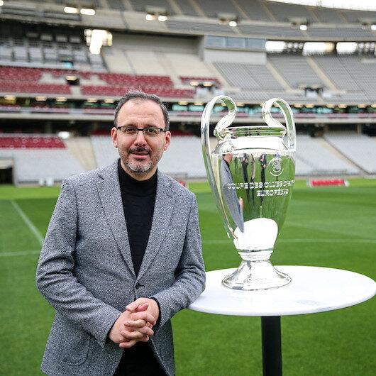 Gençlik ve Spor Bakanı Kasapoğlu: UEFA Şampiyonlar Ligi finaline hazırız