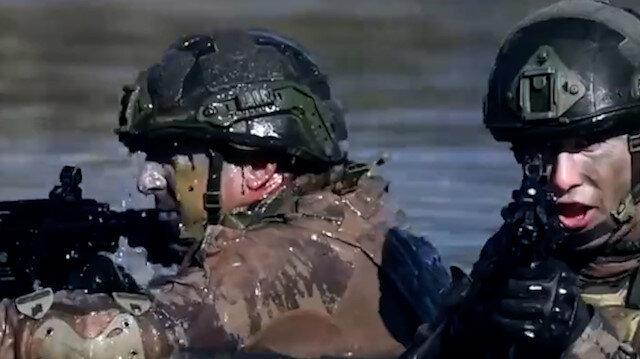 MSB böyle duyurdu: Kahraman komandolar Kuzey Irak'ta