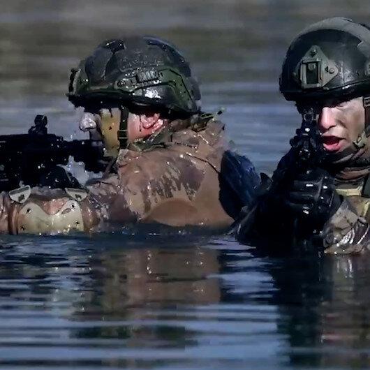 MSB böyle duyurdu: Kahraman komandolar Kuzey Irakta