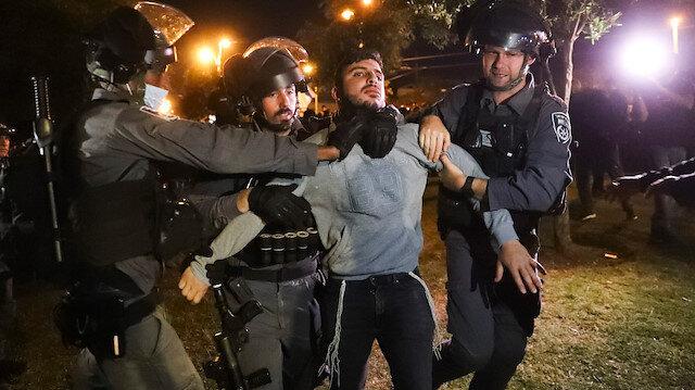 İşgalci İsrail Ramazan dinlemiyor: Doğu Kudüs'te Filistinlilere saldırdılar