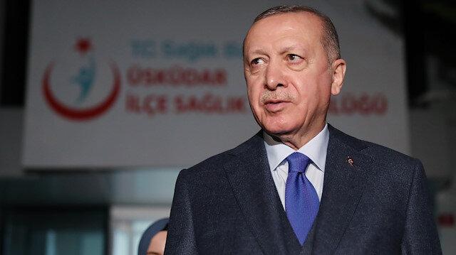 Cumhurbaşkanı Erdoğan: İnanıyorum ki salgında hayatını kaybeden sağlık çalışanları Peygamberimize komşu olacaktır