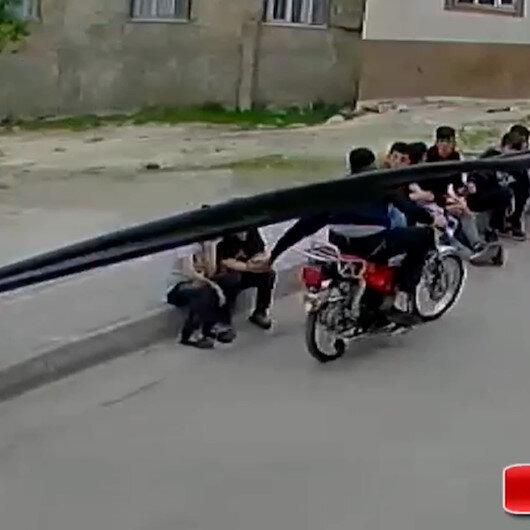 Gaziantepte vatandaşı bezdiren motosikletli kapkaççılar yakalandı