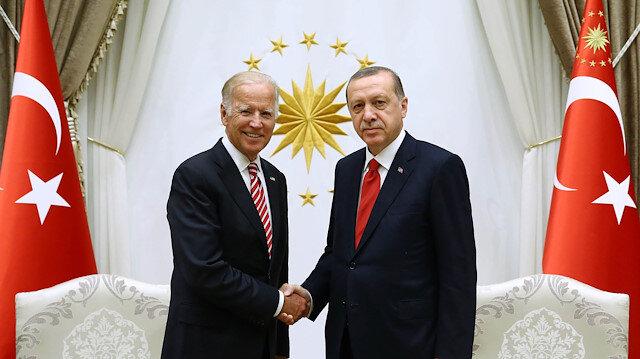 Cumhurbaşkanı Erdoğan ve Başkan Biden arasında ilk görüşme gerçekleştirildi