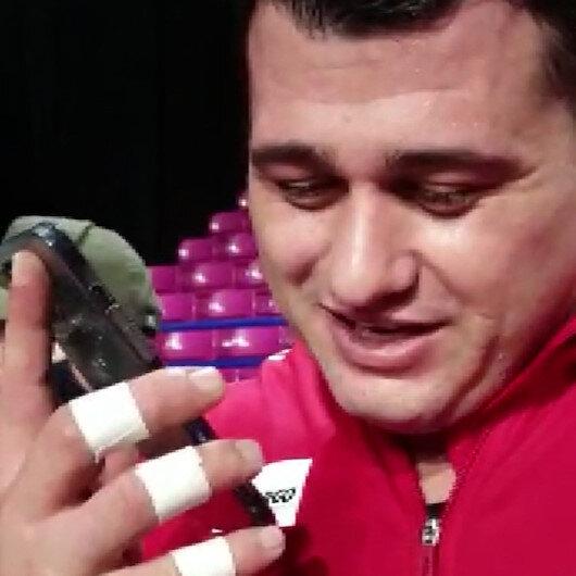 Cumhurbaşkanı Erdoğandan şampiyon güreşçi Rıza Kayaalpe tebrik telefonu