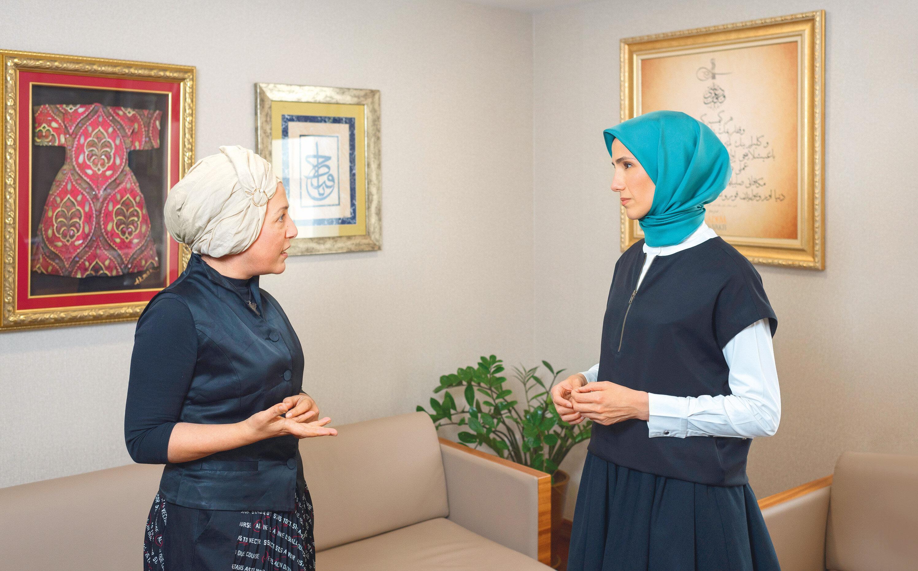 Sümeyye Erdoğan Bayraktar Yeni Şafak'a konuştu.
