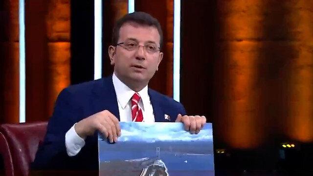 İBB Başkanı İmamoğlunun canlı yayında Kanal İstanbul ile ilgili söyledikleri asılsız çıktı
