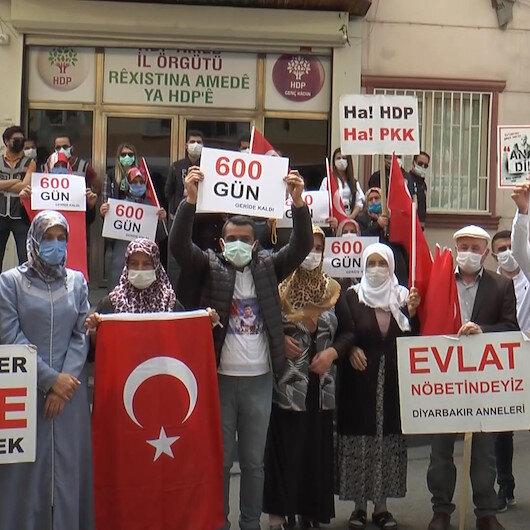 Diyarbakır annelerinin evlat nöbetinde 600 gün geride kaldı