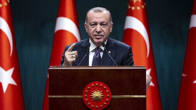 Cumhurbaşkanı Erdoğan'dan Biden'a sert tepki: Ben belgelerle konuşuyorum; Hodri meydan!