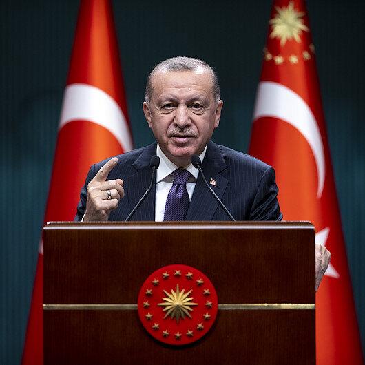 Cumhurbaşkanı Erdoğandan Bidena sert tepki: Ben belgelerle konuşuyorum; Hodri meydan!