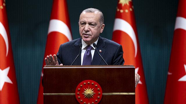 Cumhurbaşkanı Erdoğan yeni kararları açıkladı: 29 Nisan-17 Mayıs arası tam kapanmaya geçiyoruz