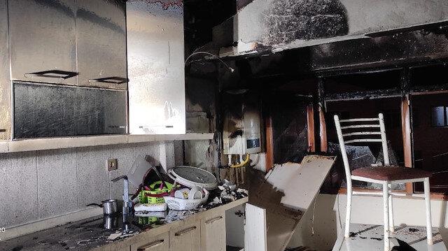 Başkent'te korkutan yangın paniğe sebep oldu