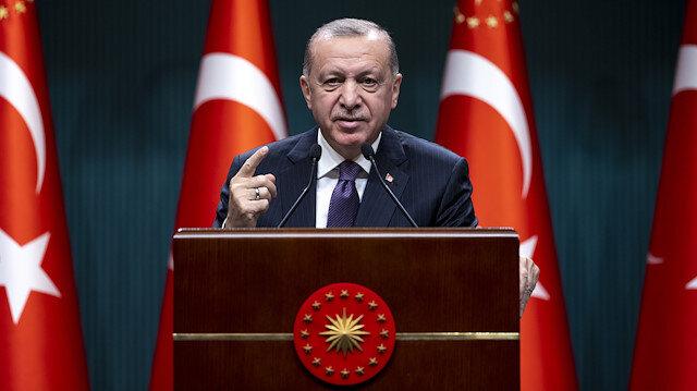 Cumhurbaşkanı Erdoğan'dan ABD Başkanı Joe Biden'a '1915' tepkisi: Hodri meydan