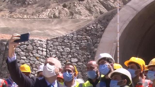 Bayburt'ta 2023'te tamamlanması planlanan Kop Dağı Tüneli ile ulaşımda yüksek tasarruf sağlanacak