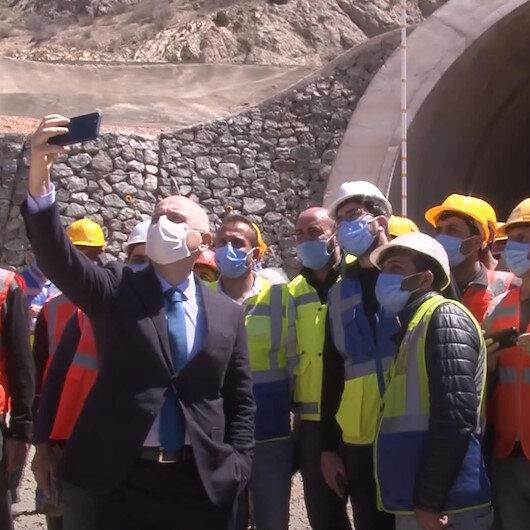Bayburtta 2023te tamamlanması planlanan Kop Dağı Tüneli ile ulaşımda yüksek tasarruf sağlanacak