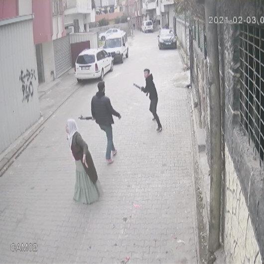 Adana'da çocuk gelin kavgası kamerada