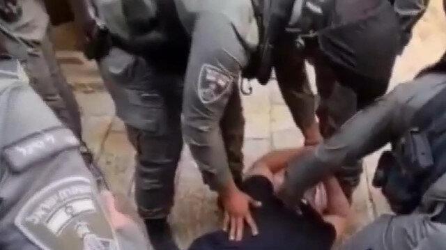 İşgalci İsrail güçleri Kudüs'te 100 Filistinliyi gözaltına aldı
