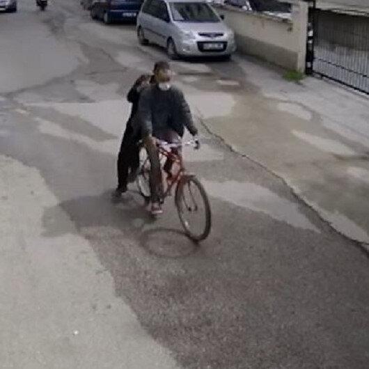 Osmaniyede bisiklet hırsızları kamerada