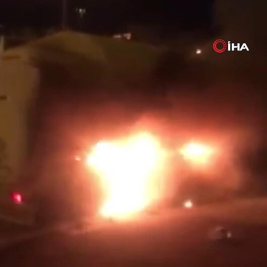 Zonguldakta seyir halindeki tanker alev aldı
