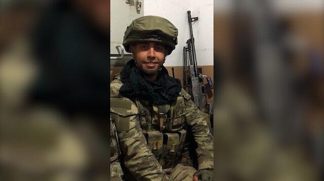 Piyade Teğmen Mehmet Kıvık'ın şehadetinden önceki son görüntüleri yürekleri burktu