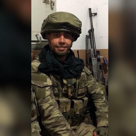 Piyade Teğmen Mehmet Kıvıkın şehadetinden önceki son görüntüleri yürekleri burktu