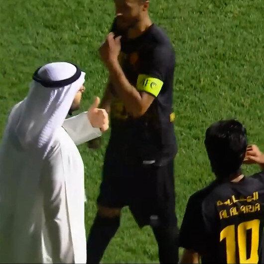 Kuveyt Liginde ilginç olay: Takımı sahadan çekme tehdidiyle penaltı kararını iptal ettirdi