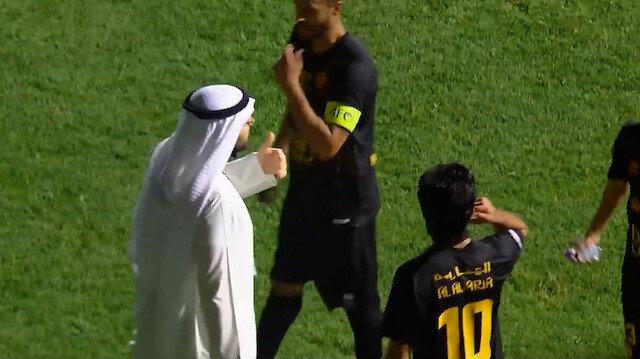Kuveyt Ligi'nde ilginç olay: Takımı sahadan çekme tehdidiyle penaltı kararını iptal ettirdi