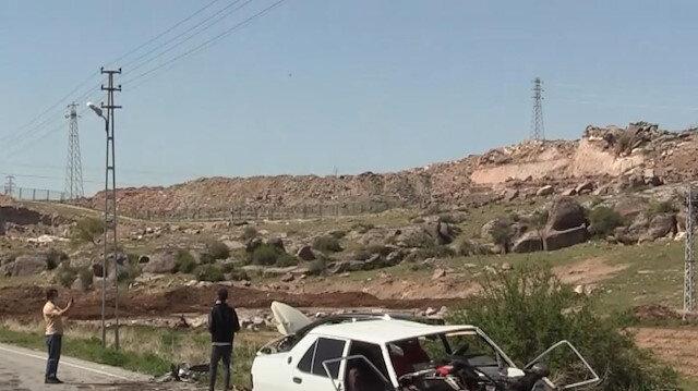 Kayseri'de 2 otomobil çarpıştı: 2 yaralı