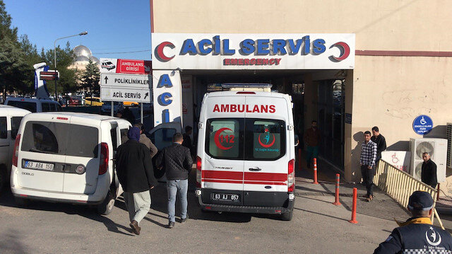 Şanlıurfa'da iki otomobil çarpıştı: 2 kişi öldü 5 kişi yaralandı