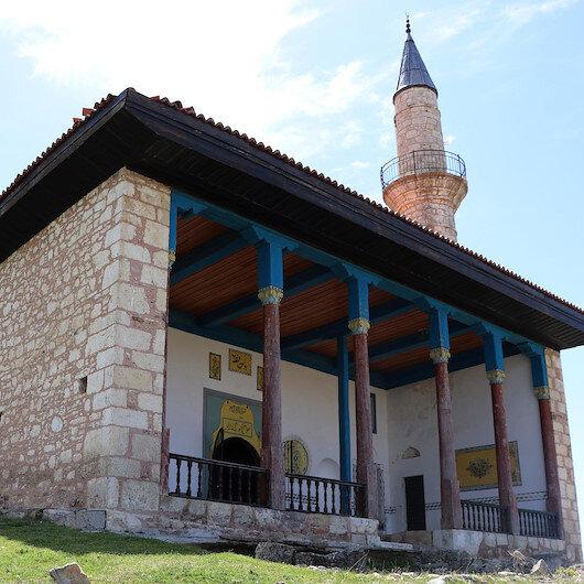 Denizli'de restorasyonu yapılan 6 asırlık camide cuma namazları kılınacak