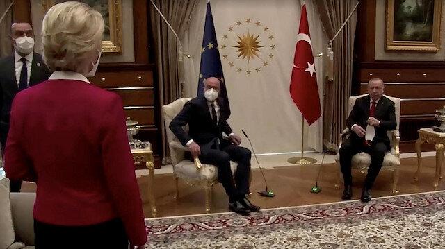 AB Komisyonu Başkanı koltuk krizinde Türkiye'yi cinsiyetçilikle suçladı: Kravat taksaydım böyle olur muydu?