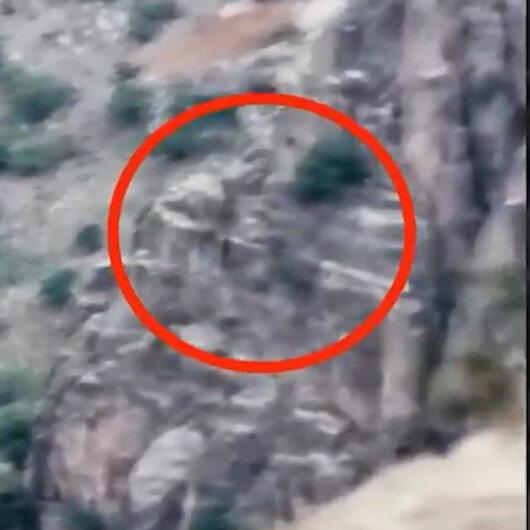 Mağaraya gizlenen PKKlı 3 terörist böyle etkisiz hale getirildi