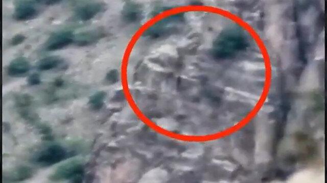 Mağaraya gizlenen PKK'lı 3 terörist böyle etkisiz hale getirildi