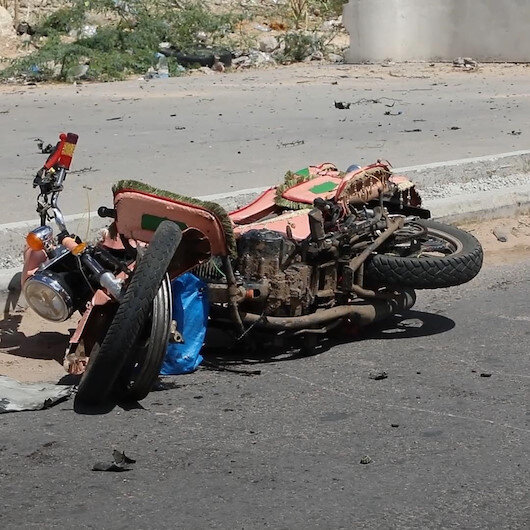 Somalinin başkenti Mogadişuda bomba yüklü araçla saldırı: 3 ölü
