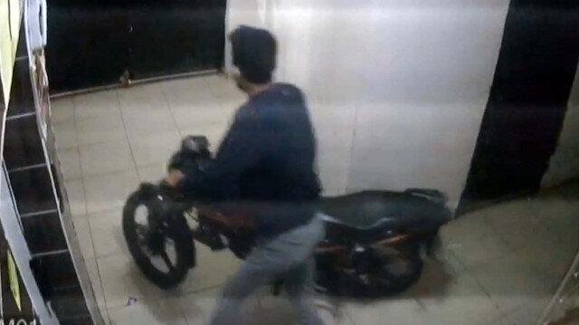 Osmaniye'de motosiklet hırsızlıkları kamerada