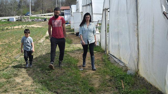 Kocaeli'de bir başarı hikayesi: Genç girişimci organik tarıma kazandırdığı atıl araziyle 20 kişiye istihdam sağladı