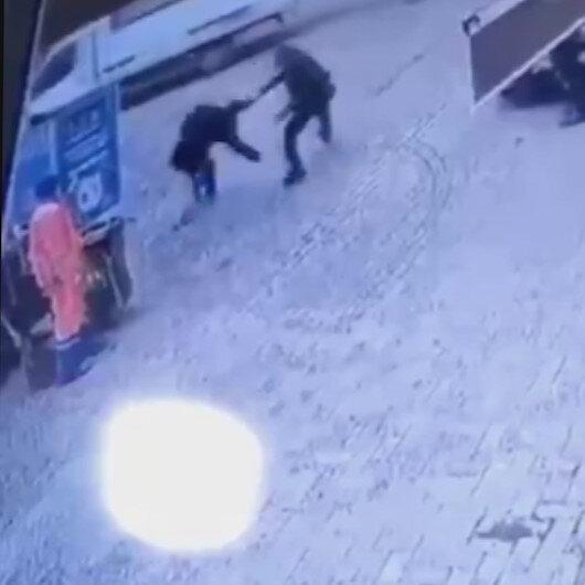 Zeytinburnunda gece Kartalı hırsızı böyle enseledi