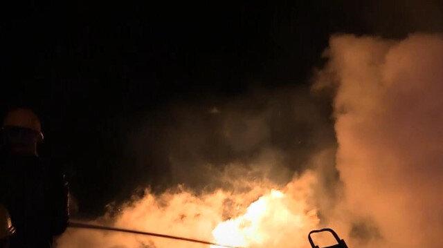Kastamonu'da 3 köy ev ile 1 otomobil yandı: 2 ölü, 1 yaralı