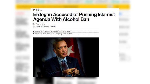 """Bloomberg'den iki yüzlü tavır: Türkiye'de olunca """"Erdoğan'ın dayatması"""" Avrupa'daysa """"tedbir"""""""