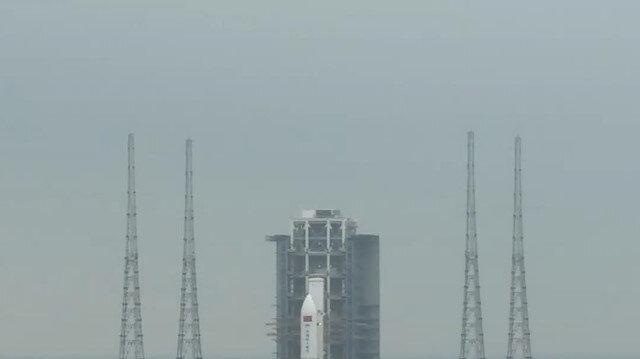 Çin Uzay İstasyonu'nun çekirdek modülü Tianhe uzaya gönderildi