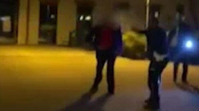 Polonya'da polis üzerine kırık cam şişeyle yürüyen saldırgana böyle ateş etti