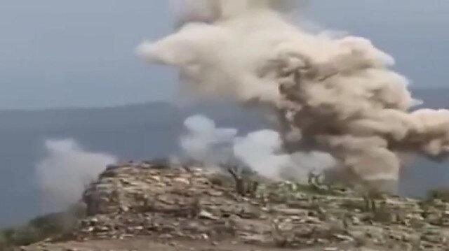 Milli Savunma Bakanlığı, Pençe-Şimşek ve Pençe-Yıldırım operasyonlarında tespit edilen sığınak, barınak ve mağaraların imha edildiğini bildirdi