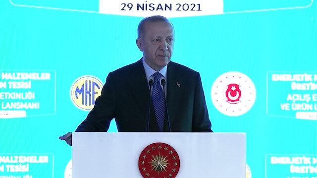 Cumhurbaşkanı Erdoğan: Artık patlayıcılar konusunda kimseye bağımlı olmayacağız